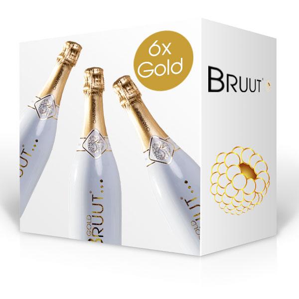 BRUUT Gold champagne, doos 6 flessen