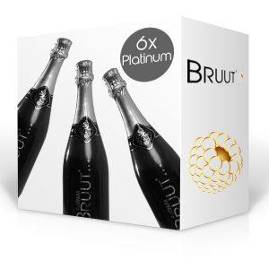 BRUUT Platinum champagne, doos 6 flessen