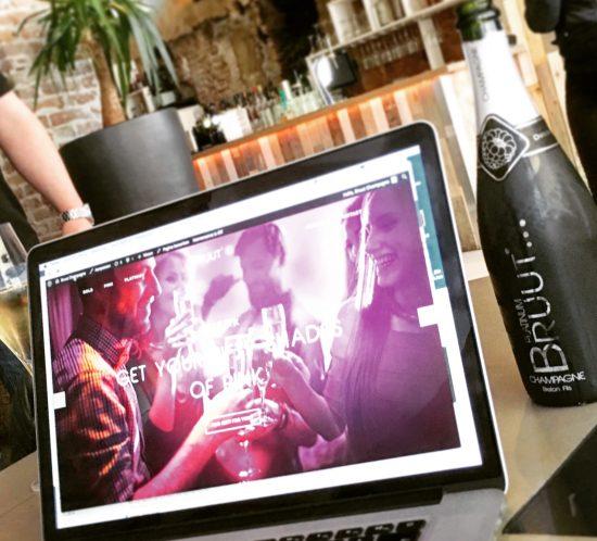 Nieuwe website Bruut Champagne