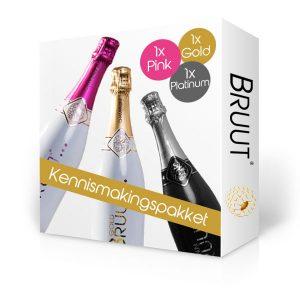 BRUUT champagne, kennismakingspakket